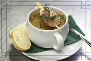 Zitronengras-Curry-Suppe